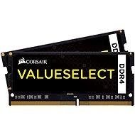 Corsair SO-DIMM 16 GB KIT DDR4 2133 MHz CL15 ValueSelect schwarz - Arbeitsspeicher