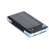 DOCA Powerbank Solar 8000mAh schwarz / blau - Powerbank