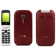 Doro 2404 Dual SIM Rot - Handy