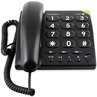 Doro PhoneEasy 311c Schwarz - Tisch-Telefon