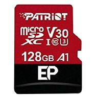 PATRIOT EP-Serie 128 GB MICRO SDXC V30 A1 - Speicherkarte