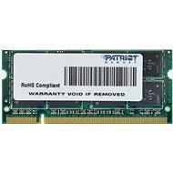 Patriot SO-DIMM 4GB DDR2 800MHz CL6 Signature Line - Arbeitsspeicher