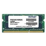 Patriot SO-DIMM 4 GB DDR3 1600 MHz CL11 Signature Line
