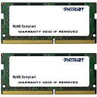 Patriot SO-DIMM 8 Gigabyte KIT DDR4 2.133 Megahertz CL15 - Arbeitsspeicher