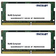 Patriot SO-DIMM KIT 16GB DDR4 2400MHz CL17 Signature Line - Arbeitsspeicher