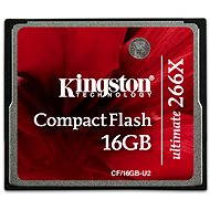 Speicherkarte Kingston Kompakt Flash 16GB 266x Ultimative - Speicherkarte
