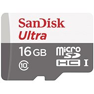 SanDisk MicroSDHC 16GB Ultra Android Class 10 UHS-I - Speicherkarte