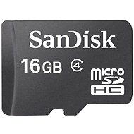 SanDisk Micro SDHC 16 Gigabyte Class 4 - Speicherkarte