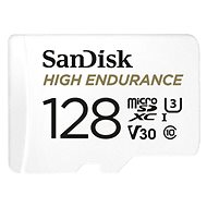 SanDisk microSDXC 128GB High Endurance Video U3 V30 + SD-Adapter - Speicherkarte