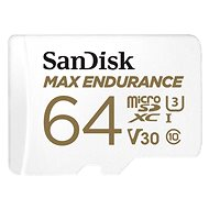 SanDisk microSDXC 64 GB Max Endurance + SD-Adapter - Speicherkarte