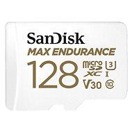 SanDisk microSDXC 128 GB Max Endurance + SD-Adapter - Speicherkarte