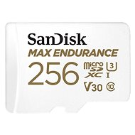 SanDisk microSDXC 256 GB Max Endurance + SD-Adapter - Speicherkarte