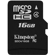 Kingston Micro SDHC 16GB Class 4 - Speicherkarte