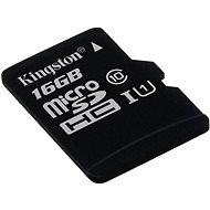Kingston microSDHC 16 GB Class 10 UHS-I - Speicherkarte
