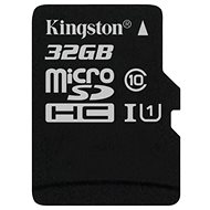 Kingston microSDHC 32 GB Class 10 UHS-I - Speicherkarte