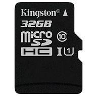 Kingston microSDHC 32 GB Class 10 UHS-I - Speicherkarte