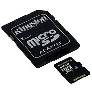Kingston microSDXC 64 GB Class 10 UHS-I + SD-Adapter - Speicherkarte