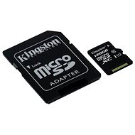 Kingston microSDXC 128 GB Class 10 UHS-I + SD-Adapter - Speicherkarte