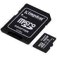 Kingston MicroSDHC 16 GB Class 10 UHS-I Industrial Temp + SD-Adapter - Speicherkarte