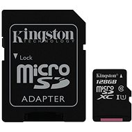 Kingston MicroSDHC 128 GB UHS-I U1 + SD-Adapter - Speicherkarte