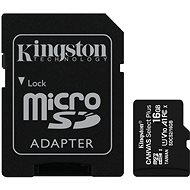 Kingston Canvas Select Plus micro SDHC 16 GB Class 10 UHS-I - Speicherkarte