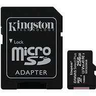 Kingston Canvas Select Plus micro SDXC 256GB Class 10 UHS-I - Speicherkarte