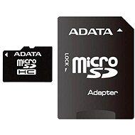 ADATA Micro SDHC 4GB Class 4 + SD-Adapter - Speicherkarte