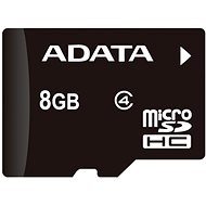 ADATA MicroSDHC 8 GB Class 4 + OTG-Mikro-Speicherkartenleser - Speicherkarte