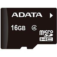 ADATA MicroSDHC 16 GB Class 4 + OTG-Mikro-Speicherkartenleser - Speicherkarte