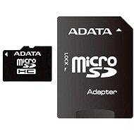 ADATA MicroSDHC 8 GB Class 10 + Adapter - Speicherkarte