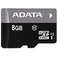 ADATA MicroSDHC 8 GB UHS-I Class 10 + OTG-Speicherkartenleser - Speicherkarte