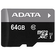 ADATA MicroSDXC 64 GB UHS-I Class 10 + OTG-Speicherkartenleser - Speicherkarte