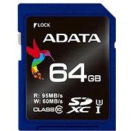 ADATA Premier Pro SDXC UHS-I-64 GB U3 - Speicherkarte