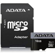 ADATA Premier Pro V30S microSDHC 16 GB UHS-I U3 + SD-Adapter - Speicherkarte
