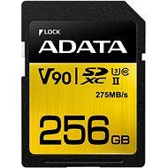 ADATA Premier ONE SDXC 256 Gigabyte UHS-II U3 Klasse 10 - Speicherkarte