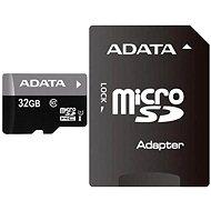 Speicherkarte ADATA Premier Micro SDHC 32GB UHS-I + SDHC Adapter - Speicherkarte