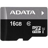 ADATA Premier micro SDHC 16 GB UHS-I A1 Klasse 10 - Speicherkarte
