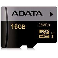 ADATA Premier MicroSDXC 16GB UHS-I U3 Class 10 - Speicherkarte