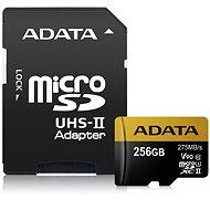 ADATA Premier ONE Micro SDXC USH 256 Gigabyte U3-II-Klasse 10 + SD-Adapter - Speicherkarte
