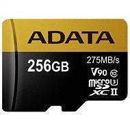 ADATA Premier ONE MicroSDXC 256GB USH-II U3 Class 10 - Speicherkarte