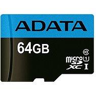 ADATA Premier MicroSDXC 64GB UHS-I Class 10 + SD-Adapter - Speicherkarte