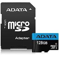 ADATA Premier MicroSDXC 128 Gigabyte UHS-I Class 10 + SD-Adapter - Speicherkarte