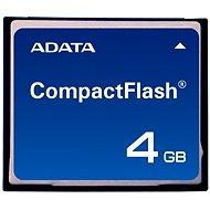 ADATA Compact Flash Industrial SLC 4GB, bulk - Speicherkarte