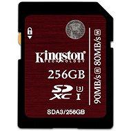 Kingston SDHX UHS-I 256GB Klasse 3 - Speicherkarte