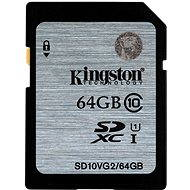 Kingston SDXC 64GB Class 10 UHS-I - Speicherkarte