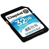 Kingston Canvas Go! SDHC 32 GB UHS-I U3 - Speicherkarte
