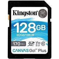 Kingston Canvas Go Plus SDXC 128 GB - Speicherkarte