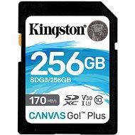 Kingston Canvas Go Plus SDXC 256 GB - Speicherkarte