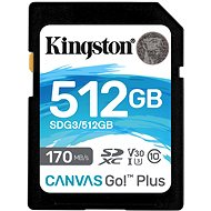 Kingston Canvas Go Plus SDXC 512 GB + SD-Adapter - Speicherkarte