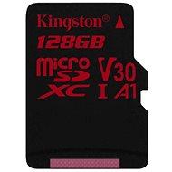 Kingston Canvas React MicroSDXC 128 GB UHS-I V30 - Speicherkarte